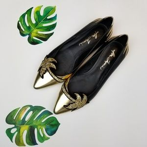 Isa Tapia pointed flat